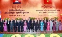 เปิดการประชุมสัมพันธไมตรีรัฐสภาเวียดนาม กัมพูชา