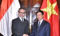การประชุมคณะกรรมการร่วมรัฐบาลเวียดนาม อินโดนีเซีย