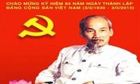 กิจกรรมฉลองครบรอบ๘๓ปีการก่อตั้งพรรคคอมมิวนิสต์เวียดนาม