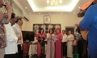 ชาวเวียดนามที่อาศัยในต่างประเทศฉลองเทศกาลตรุษเต๊ตปีมะเส็ง๒๐๑๓