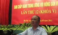 การประชุมคณะผู้บริหารสมาคมเกษตรกรเวียดนามครั้งที่๑๒