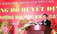 เวียดนามก่อตั้งมหาวิทยาลัยอัยการฮานอย