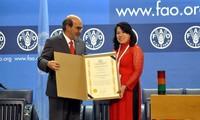 FAO รับทราบผลงานที่โดดเด่นของเวียดนามในการแก้ปัญหาความยากจน