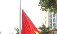 พิธีเชิญธงขึ้นสู่ยอดเสาในงานมหกรรมอาเซียนสคูลเกมส์ครั้ง๕ปี๒๐๑๓