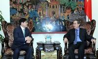 รองนายกรัฐมนตรีให้การต้อนรับหัวหน้าสำนักงานความร่วมมือระหว่างประเทศสาธารณรัฐเกาหลีหรือKOICA