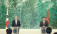 จีนและสาธารณรัฐเกาหลีเตรียมให้แก่การเจรจา FTAครั้งใหม่