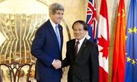 สหรัฐสนับสนุนการธำรงรักษาสันติภาพ ความมั่นคงและเสถียรภาพของอาเซียน
