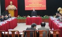 """การประชุมเพื่อปฏิบัติหน้าที่การรณรงค์""""ชาวเวียดนามให้ความสนใจใช้สินค้าเวียดนาม"""""""