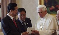 ท่านเหงวียนเติ๊นหยุงนายกรัฐมนตรีเวียดนามออกจากนครมิลานเดินทางถึงกรุงโรมเพื่อเยือนสำนักวาติกัน