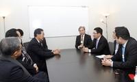 รองนายกรัฐมนตรีเวียดนามมีการพบปะทวิภาคีนอกรอบWEF