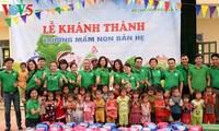Trường mới ở Bản Hẹ, Điện Biên
