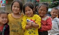 Vẻ đẹp trong trẻo của trẻ em ở Xá Nhè, Điện Biên
