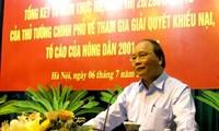 Phó Thủ tướng Nguyễn Xuân Phúc: Giải quyết dứt điểm các vụ khiếu kiện kéo dài