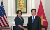 Thủ tướng Nguyễn Tấn Dũng tiếp Bộ trưởng Thương mại và Đại diện Thương mại Hoa Kỳ