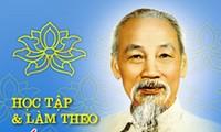 Học tập tấm gương đạo đức Hồ Chí Minh bằng những hành động thiết thực