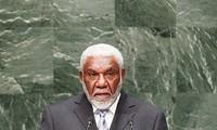 Chủ tịch nước Trương Tấn Sang tiếp Thủ tướng Cộng hòa Vanuatu Joe Natuman