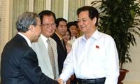 Thủ tướng Nguyễn Tấn Dũng tiếp Hội quy hoạch phát triển đô thị Việt Nam