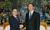 Trao bằng tiến sỹ danh dự cho Phó chánh văn phòng Nội các Nhật Bản Seko Hiroshige