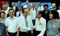 Ủy ban TƯ MTTQ VN gặp mặt nguyên cán bộ, chiến sĩ Ban Trí vận - Mặt trận Khu ủy Sài Gòn - Gia Định