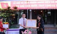 Truy tặng danh hiệu Bà mẹ Việt Nam Anh hùng cho thân mẫu liệt sỹ Tô Hiệu