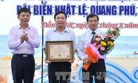 Biển Nhật Lệ, Quảng Bình được công nhận Top 10 thắng cảnh du lịch biển hấp dẫn nhất Việt Nam