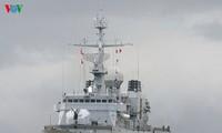 Tàu hải quân Pháp thăm Đà Nẵng