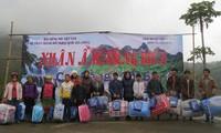 VOV5 tặng quà cho đồng bào vùng biên giới tỉnh Cao Bằng