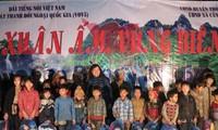"""VOV5 tổ chức chương trình """"Xuân ấm vùng biên"""" tại xã Cần Nông, huyện Thông Nông, tỉnh Cao Bằng"""