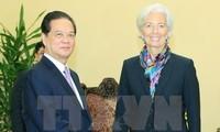 IMF mong muốn tăng cường hợp tác sâu rộng và sẵn sàng hỗ trợ VN thực hiện mục tiêu phát triển
