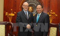 Lãnh đạo Thành phố Hồ Chí Minh tiếp Chủ tịch Đảng Cộng sản Hoa Kỳ