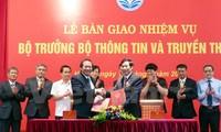Thủ tướng Nguyễn Xuân Phúc dự lễ bàn giao nhiệm vụ Bộ trưởng Bộ Thông tin và Truyền thông