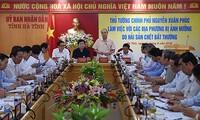 Kết luận của Thủ tướng Chính phủ tại cuộc làm việc về hiện tượng hải sản chết bất thường