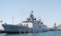 Tàu hải quân Ấn Độ thăm hữu nghị chính thức Việt Nam