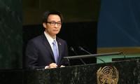 Phó Thủ tướng Vũ Đức Đam tham gia Hội nghị cấp cao của Liên hợp quốc về phòng chống HIV/AIDS