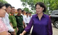 Chủ tịch Quốc hội Nguyễn Thị Kim Ngân thăm làm việc tại Lạng Sơn