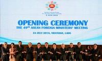 AMM 49 ra Tuyên bố bày tỏ hết sức quan ngại về vấn đề Biển Đông