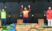 Đoàn thể thao Việt Nam trở về nước sau kỳ Olympic Rio 2016 thi đấu thành công