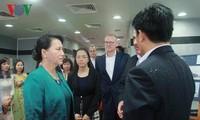 Chủ tịch Quốc hội làm việc với lãnh đạo cảng Quốc tế Cái Mép -Thị Vải và cảng Bà Rịa Serece