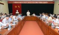 Ông Đinh Thế Huynh làm việc với Học viện Chính trị Quốc gia Hồ Chí Minh