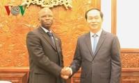 Chủ tịch nước Trần Đại Quang tiếp Giám đốc quốc gia Ngân hàng thế giới tại Việt Nam