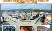 Lễ kỷ niệm 20 năm tái thành lập tỉnh Bắc Kạn