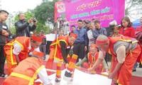Lễ hội mùa xuân Côn Sơn - Kiếp Bạc: Đặc sắc hội thi bánh chưng, bánh dày