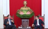 Ông Phạm Minh Chính tiếp Chủ tịch Đảng Đề xuất Cộng hòa (PRO) cầm quyền của Argentina