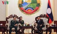 Tăng cường hợp tác quốc phòng, củng cố sự tin cậy và hợp tác toàn diện Việt - Lào