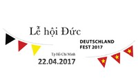 Lễ hội Đức lần đầu tiên diễn ra tại thành phố Hồ Chí Minh