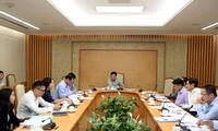 Phó Thủ tướng Phạm Bình Minh chủ trì cuộc họp về sử dụng vốn ODA