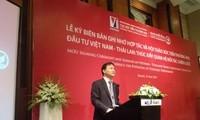 Việt Nam và Thái Lan đặt mục tiêu kim ngạch song phương 20 tỷ USD vào năm 2020