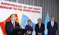 Thủ tướng Nguyễn Xuân Phúc tham dự Lễ kỉ niệm 40 năm Việt Nam gia nhập Liên hợp quốc