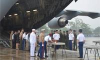 Lễ hồi hương hài cốt quân nhân Hoa Kỳ mất tích trong chiến tranh ở Việt Nam