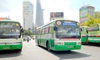Từ đầu năm đến nay, lượng hành khách đi xe buýt trên địa bàn thành phố Hồ Chí Minh tăng cao